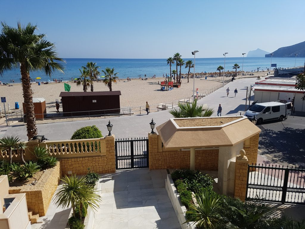 Sea view Playa Arenal Bol Calp, Spain, Alicante
